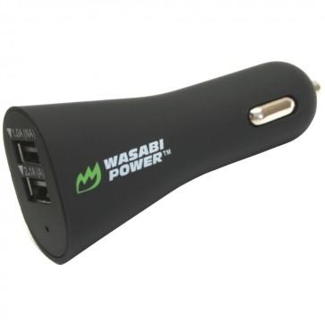 Cargador de Auto 2.1 amp & 1 amp Wasabi Power