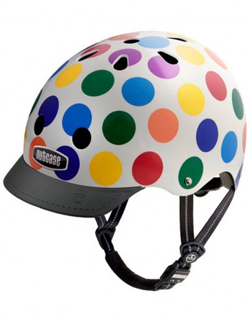 Casco Puntitos DOTS- Nutcase