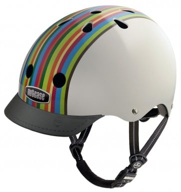 Casco para Bicicleta RainBow Stripes - Nutcase