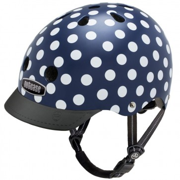Casco Nutcase Navy Dots