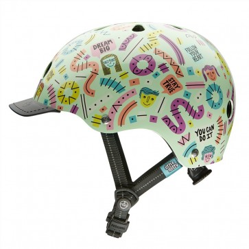 Casco para Niños Little Nutty Stay Positive