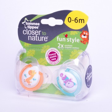 Chupete Fun Style 0-6 meses - Tommee Tippee