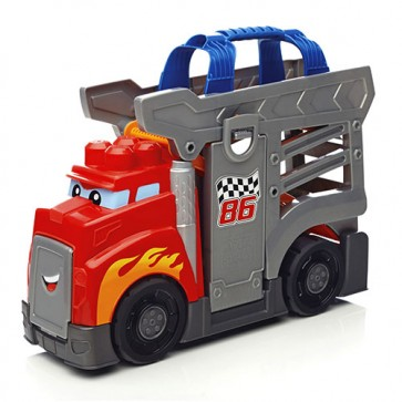 Mega Camion de Carreras 10 Pcs Fisher Price 4