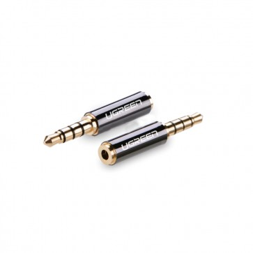 Conector 3.5mm Macho - Hembra 2.5mm Ugreen