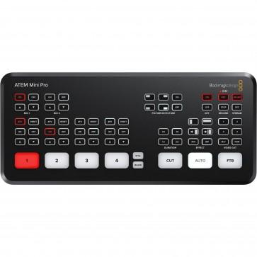 Conmutador de transmisión en Vivo Blackmagic Design ATEM Mini PRO HDMI