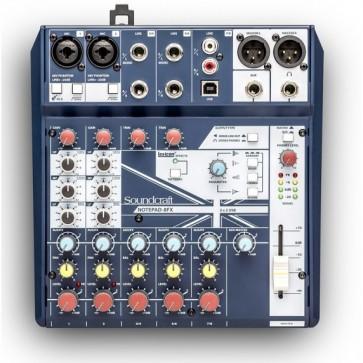 Consola Soundcraft Notepad-8FX