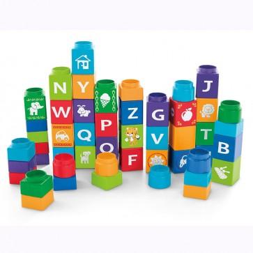 Juguete cubos ABC de letras de Shakira - Fisher Price 1