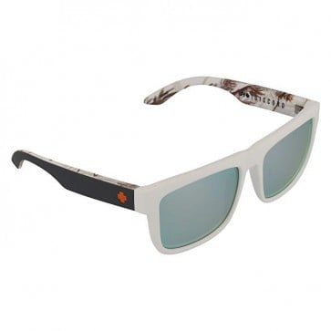 Lente Spy Discord Soft Matte Decoy Realtree Gray Green Polarized silver Mirror