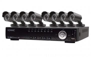 KIT DVR de 8 Canales - Sony CCD