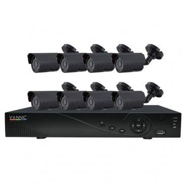 Kit DVR 850 TVL 960h - 16 Canales 8 Camaras - Vonnic