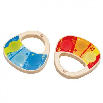 Duo Maracas Musical de juguete para bebé - Hape 1