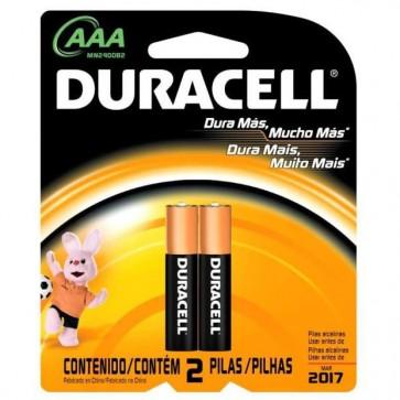 Pack de 2 Pilas AAA - Duracell