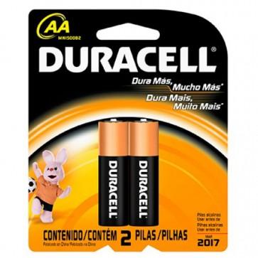Pack de 2 pilas AA - Duracell