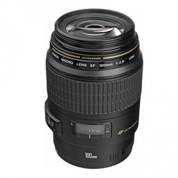 Lente Canon EF 100MM F/2.8 Macro USM 2