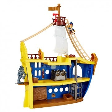 El Gran Barco Colosal de Jake Fisher Price