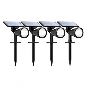Estacas Solares para el Jardin Mpow (Set de 4 Estacas)