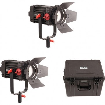 Kit de 2 Luces de Video Fresnel Bicolor 100W Boltzen Came-Tv 1
