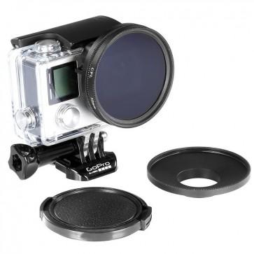 Filtro Polarizador para GoPro Hero 3+ y 4 Neewer 1