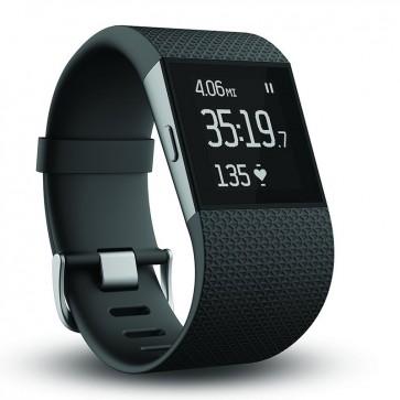 Reloj Fitbit Surge GPS de Lado