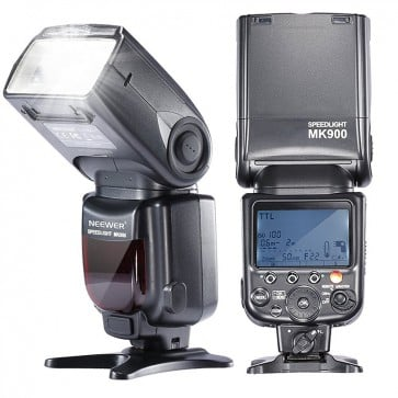Flash MK900 para Camaras SLR Nikon Neewer 6