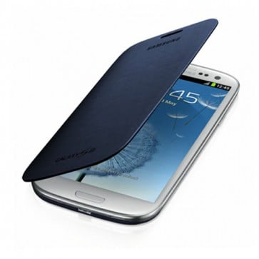 Samsung Flip Cover Galaxy S3 - Gris