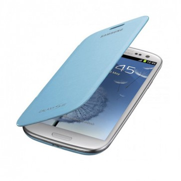 Samsung Flip Cover Galaxy S3-Celeste