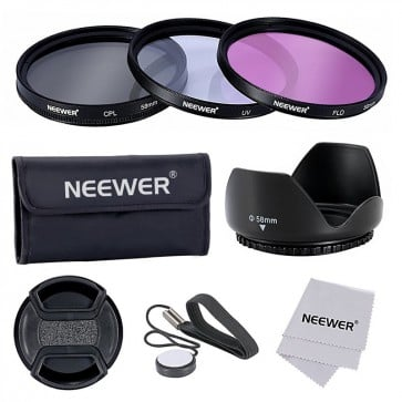 Kit de Filtros para Lentes de 58mm Neweer 5