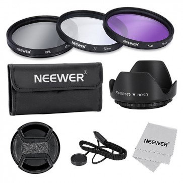 Kit de Filtros para Lentes de 72mm Neewer 2