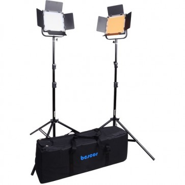 Kit de 2 Luces Bi-Color FP-900K Bescor