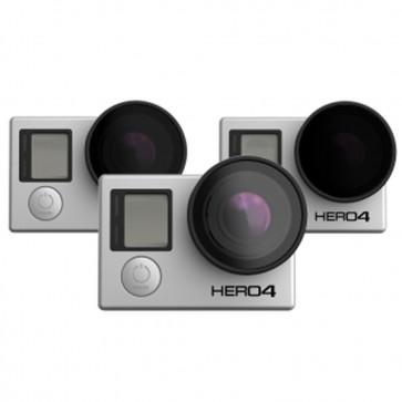Pack de 3 Filtros - PolarPro Hero 4/ 3+/ 3