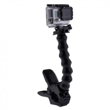 Super Pinza + Alargador para GoPro Telesin 1