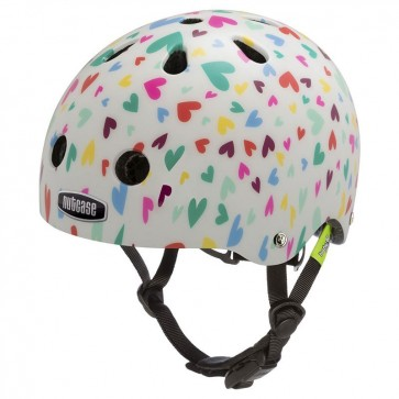 Casco para Bebe Baby Nutty Happy Hearts 1