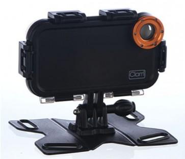 Carcasa iClam para transformar tu smartphone en GoPro