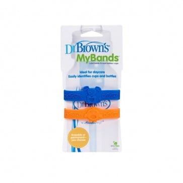 Bandas Identificadoras - Dr. Browns- Azul-Naranjo