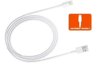 Cable Iphone5 Ipad mini blanco
