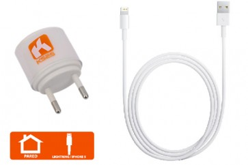 Cargador Iphone 5 ipad mini Blanco