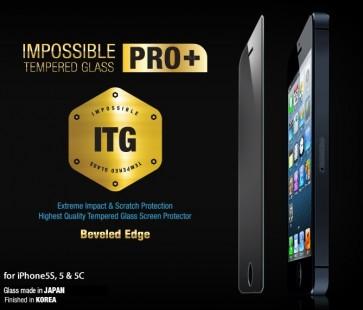 Protector de Vidrio templado PRO+ iPhone 5/5s/5c