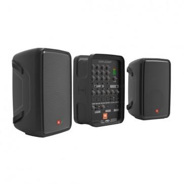 Sistema de PA Personal JBL EON208P con Mezclador de 8 Canales y Bluetooth