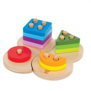 Juego de Encaje Geométrico para bebé - Hape 1