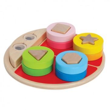 Juego de Encaje Formas para bebés - Hape 1