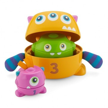 Juguete Fisher Price Stack de Mounstros