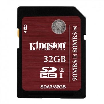Tarjeta de memoria SDXC 32GB Clase 10 Kingston