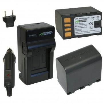 Kit de Baterias BNVF823 Wasabi Power para JVC