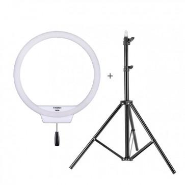 Set de Aro de luz + Trípode + Cargador Bi-Color 3200-5500K Yongnuo YN-308C