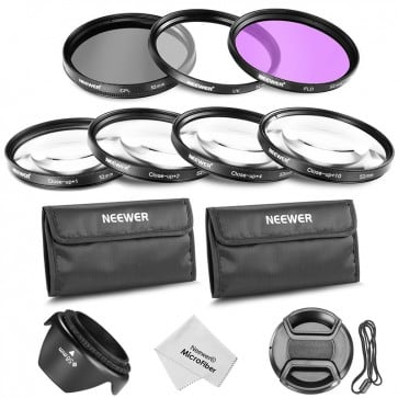 Kit de Filtros y Lentes para 52mm Neweer 6