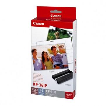 Set de 36 Papel Fotografico + Tinta KP-36IP Canon