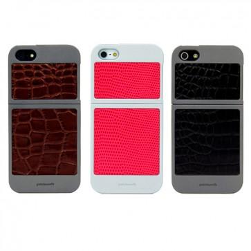Carcasa Cuero Classique - Iphone 5 - Colorant