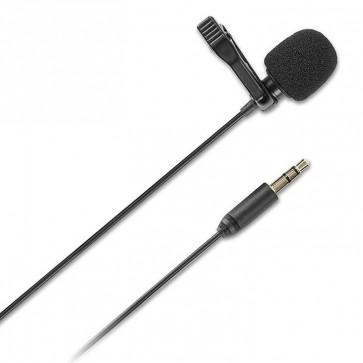 Micrófono Lavalier Con cable SR-XLM1 para Camaras DSLR Smartphone