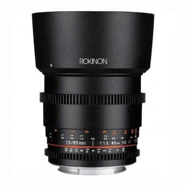 Rokinon DS 85mm T1.5 Cine Lente para Canon EF
