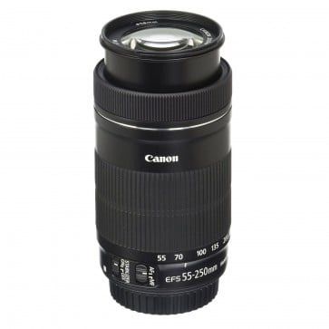 Lente canon EFS 55-250mm f/4-5.6mm IS STM